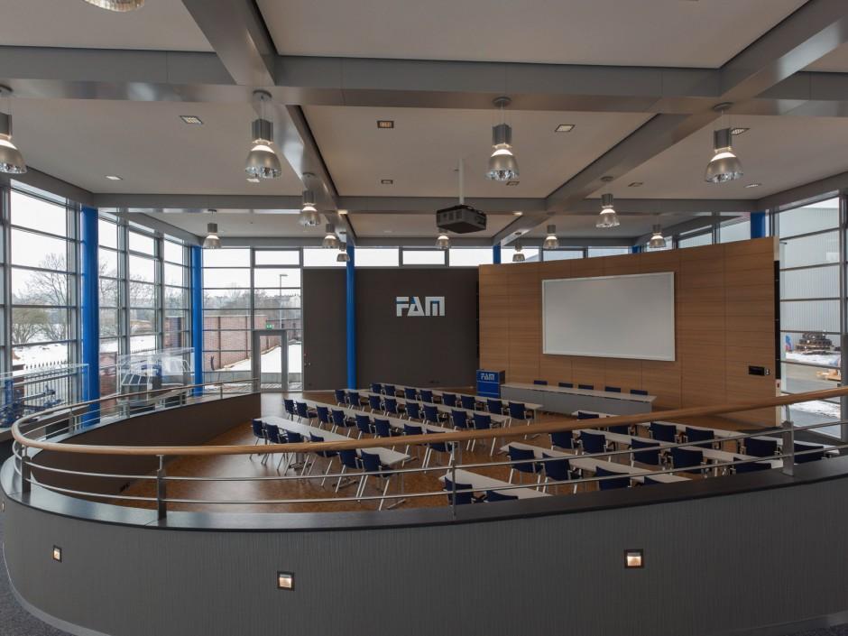 FAM Besucherzentrum